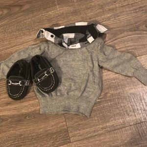 Other - Baby dress sweater & matching shoes